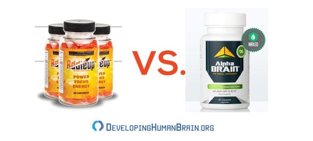 addieup vs alpha brain