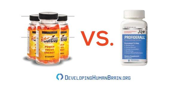 addieup vs profiderall