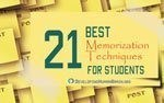 best memorization techniques for students
