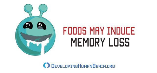 processed food memory loss