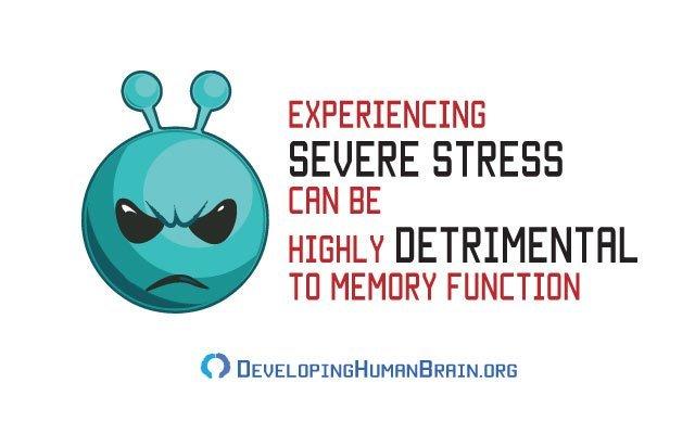 stress memory loss