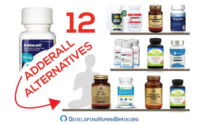 adderall alternatives