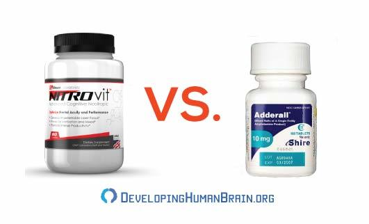 nitrovit vs adderall