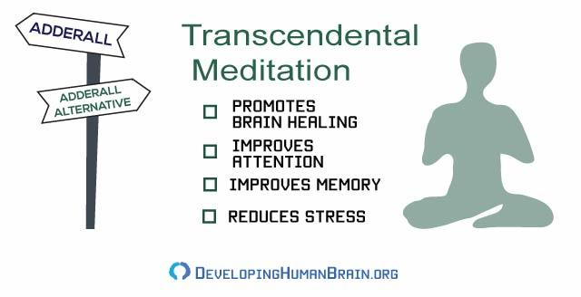 transcendental meditation and adderall