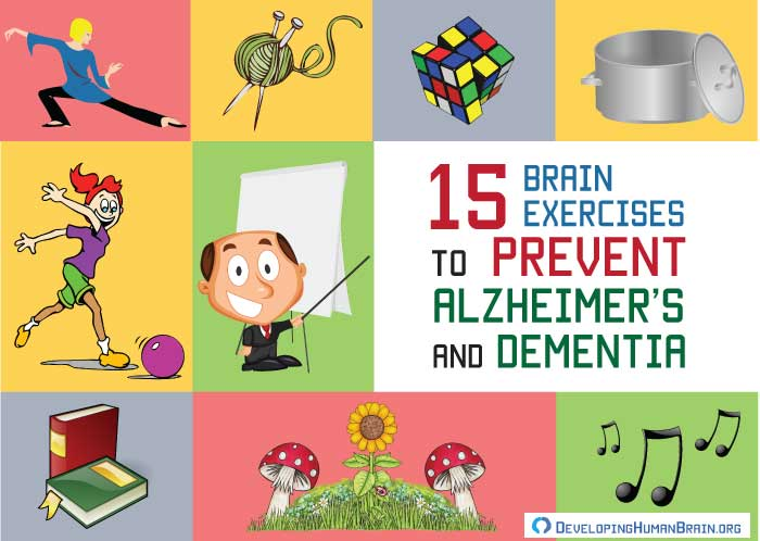brain exercises to prevent alzheimer's and dementia