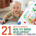 brain development for infants and toddlers