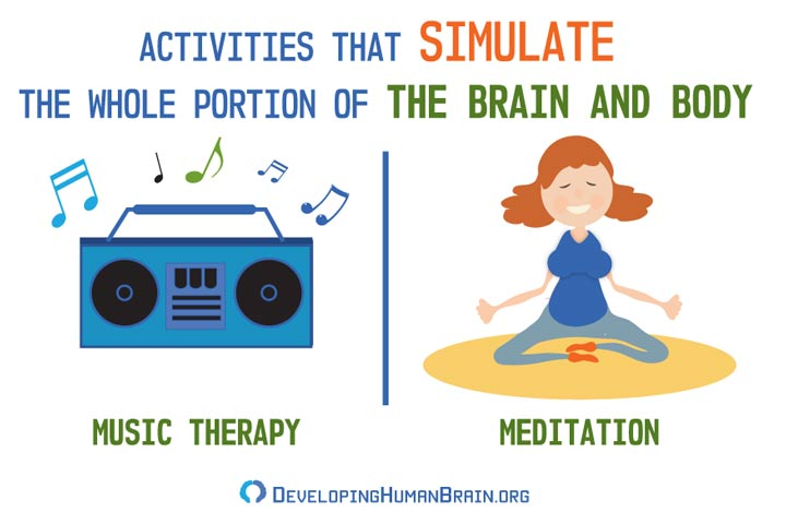 stimulating activities for whole brain and bodies