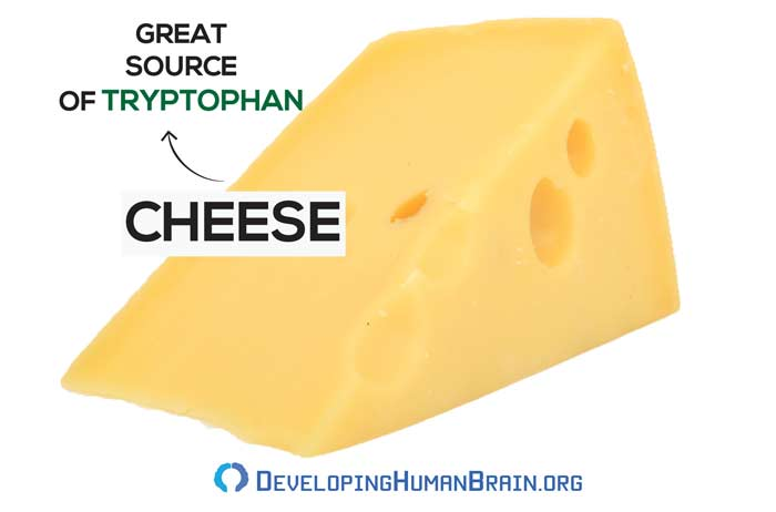 cheese tryptophan