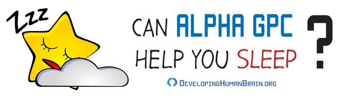 alpha gpc for sleep