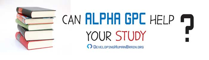 alpha gpc for studying