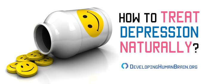 how to treat depression naturally