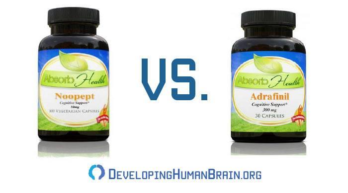 noopept vs adrafinil