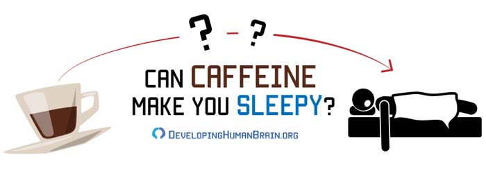caffeine makes me sleepy