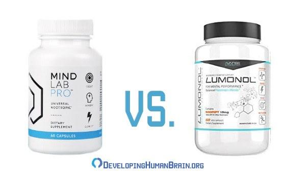 mind lab pro vs lumonol